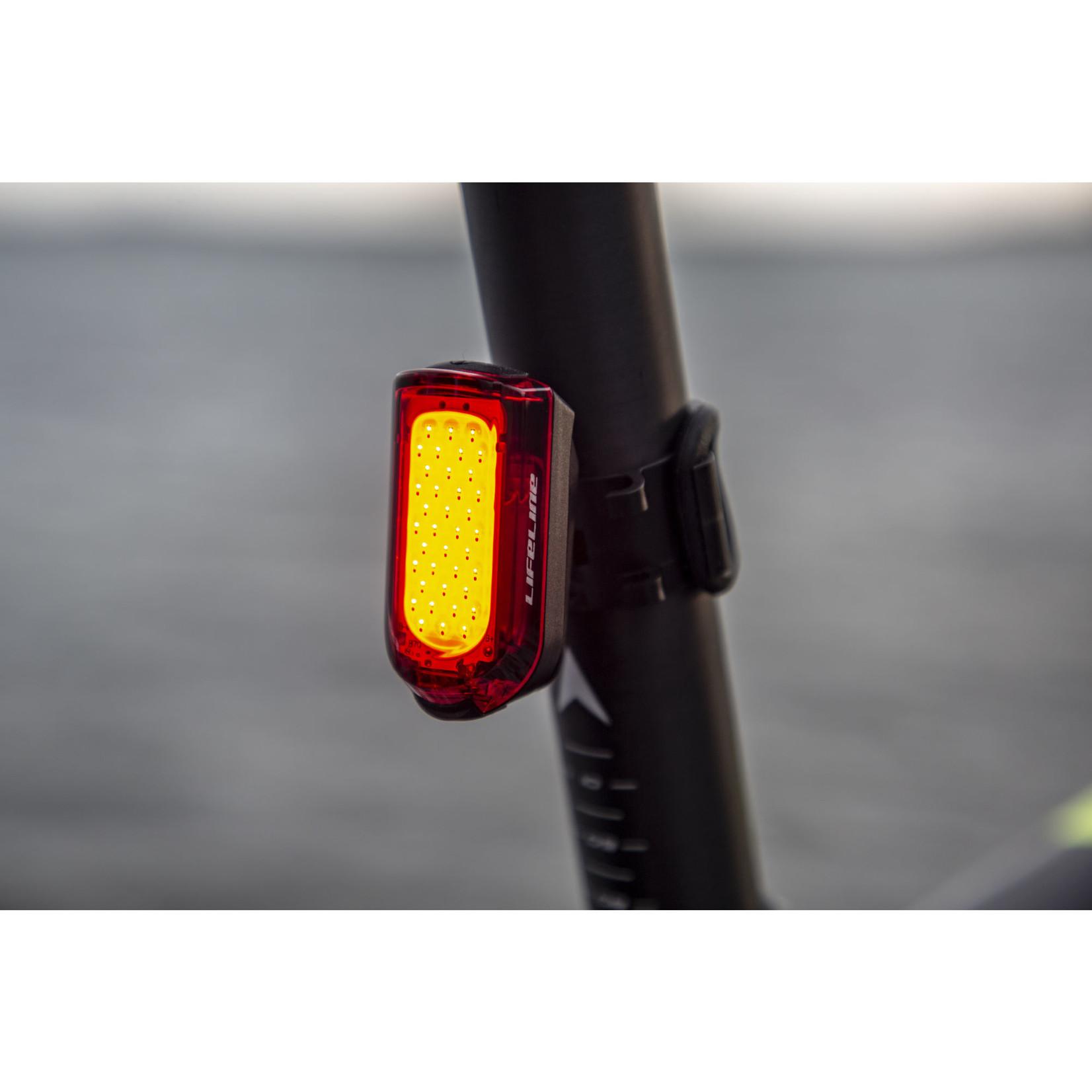 LifeLine Daylight Visible 20 Lumen Rear Bike Light