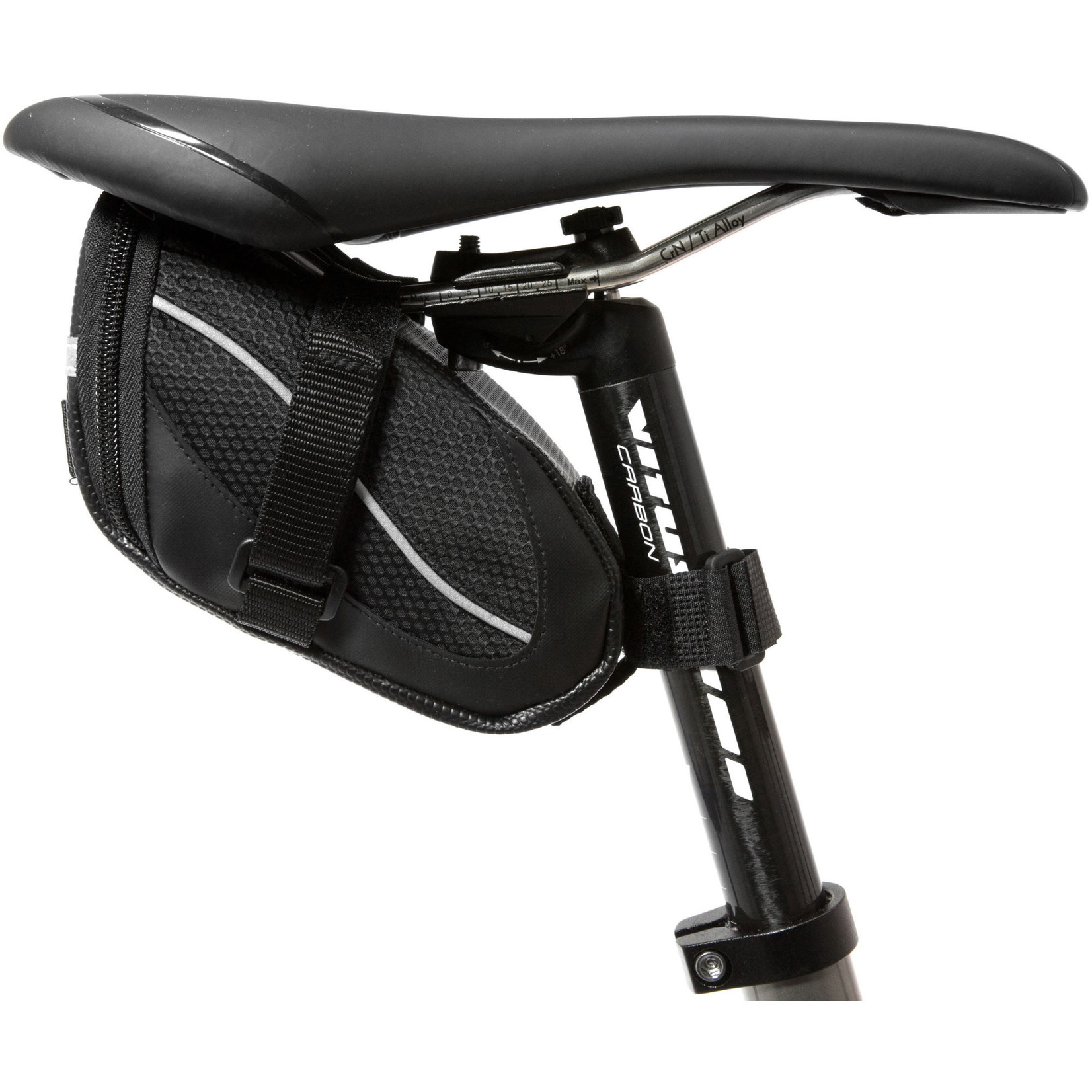 LifeLine Stash Saddle Bag Black Large