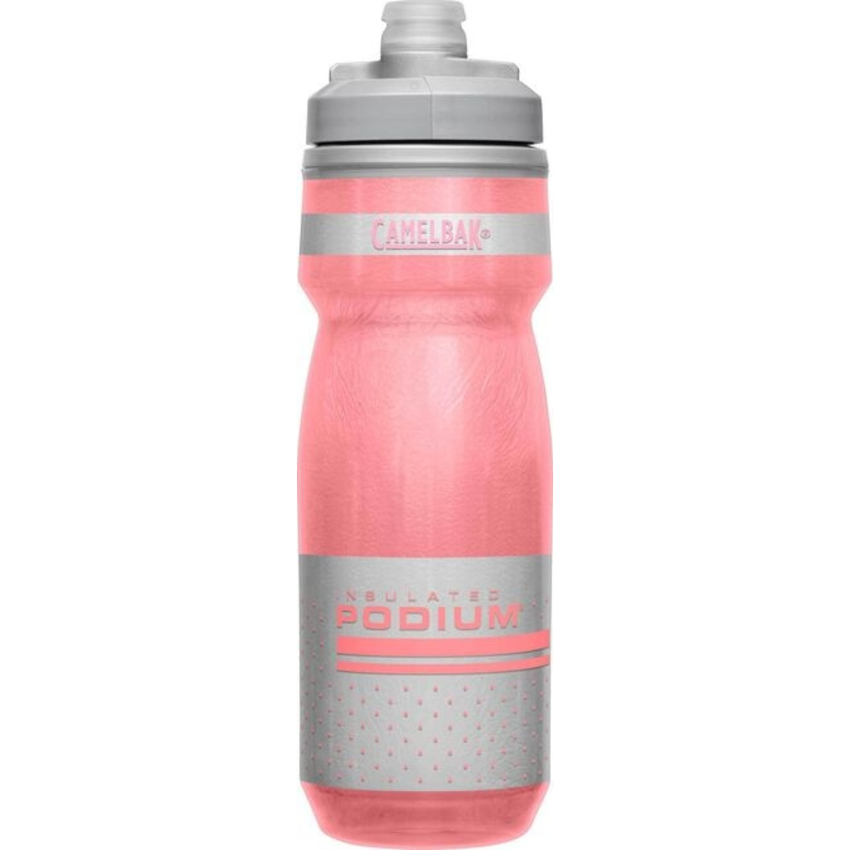 Camelbak Podium Chill 620ml Bike Bottle - Reflective Pink