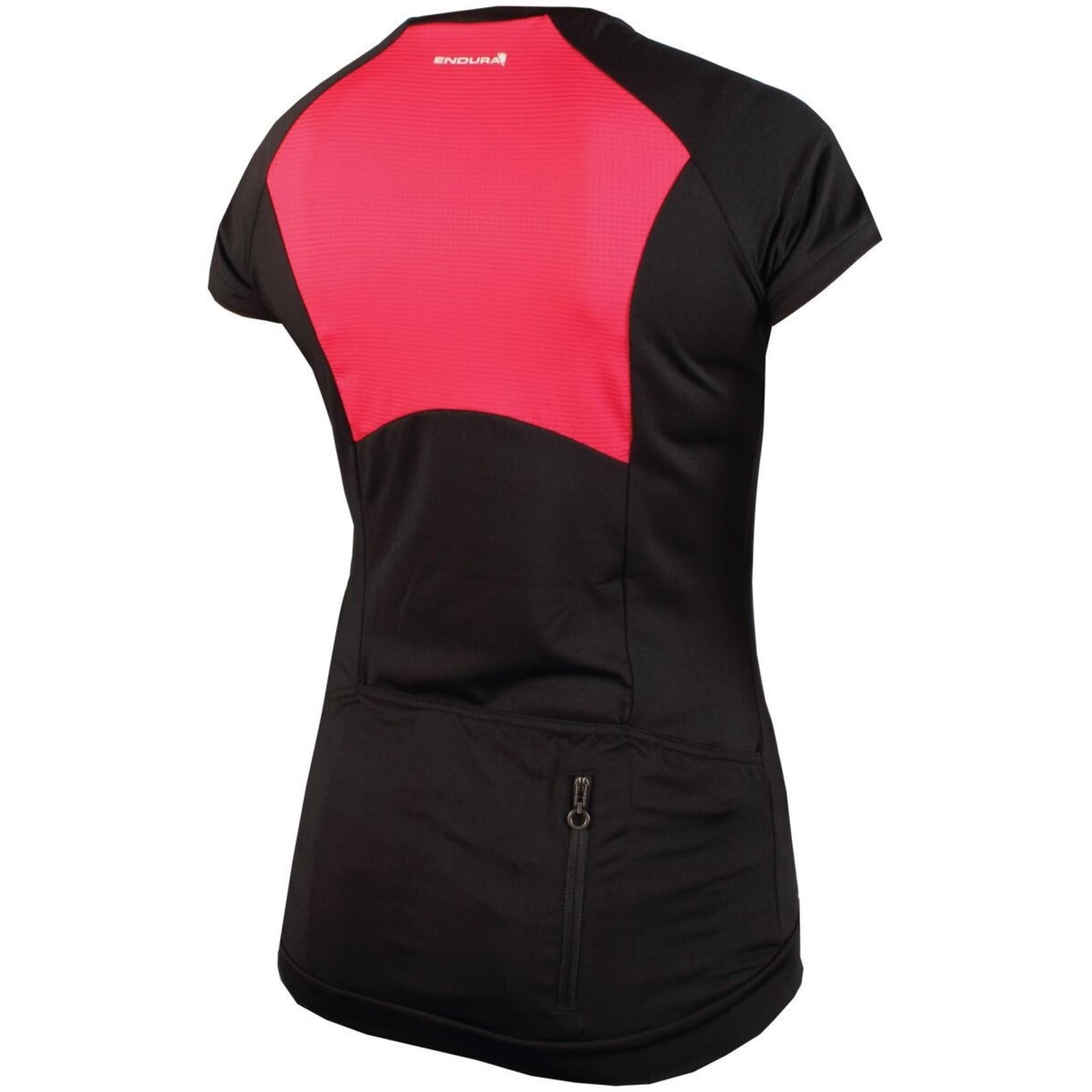 Endura Womens V Sport Cycling T Black, Large