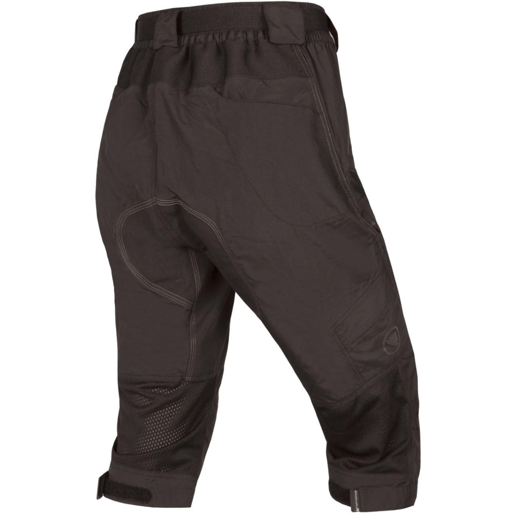 Endura Women's Hummvee II 3/4 Length Shorts - Black (Medium)