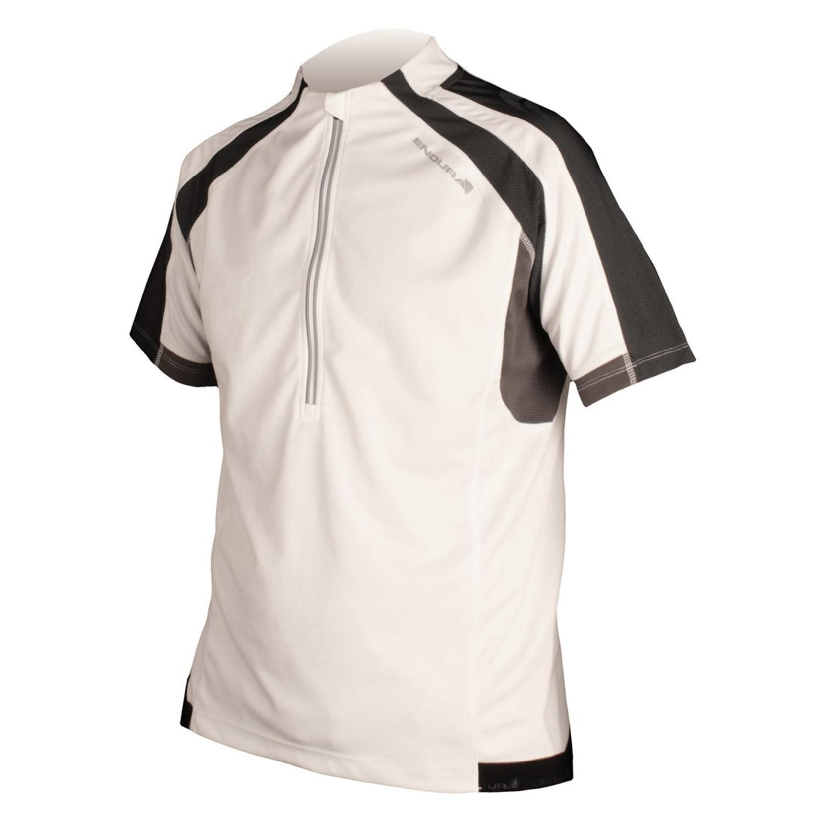 Endura Hummvee Short Sleeve Cycling Jersey White Small