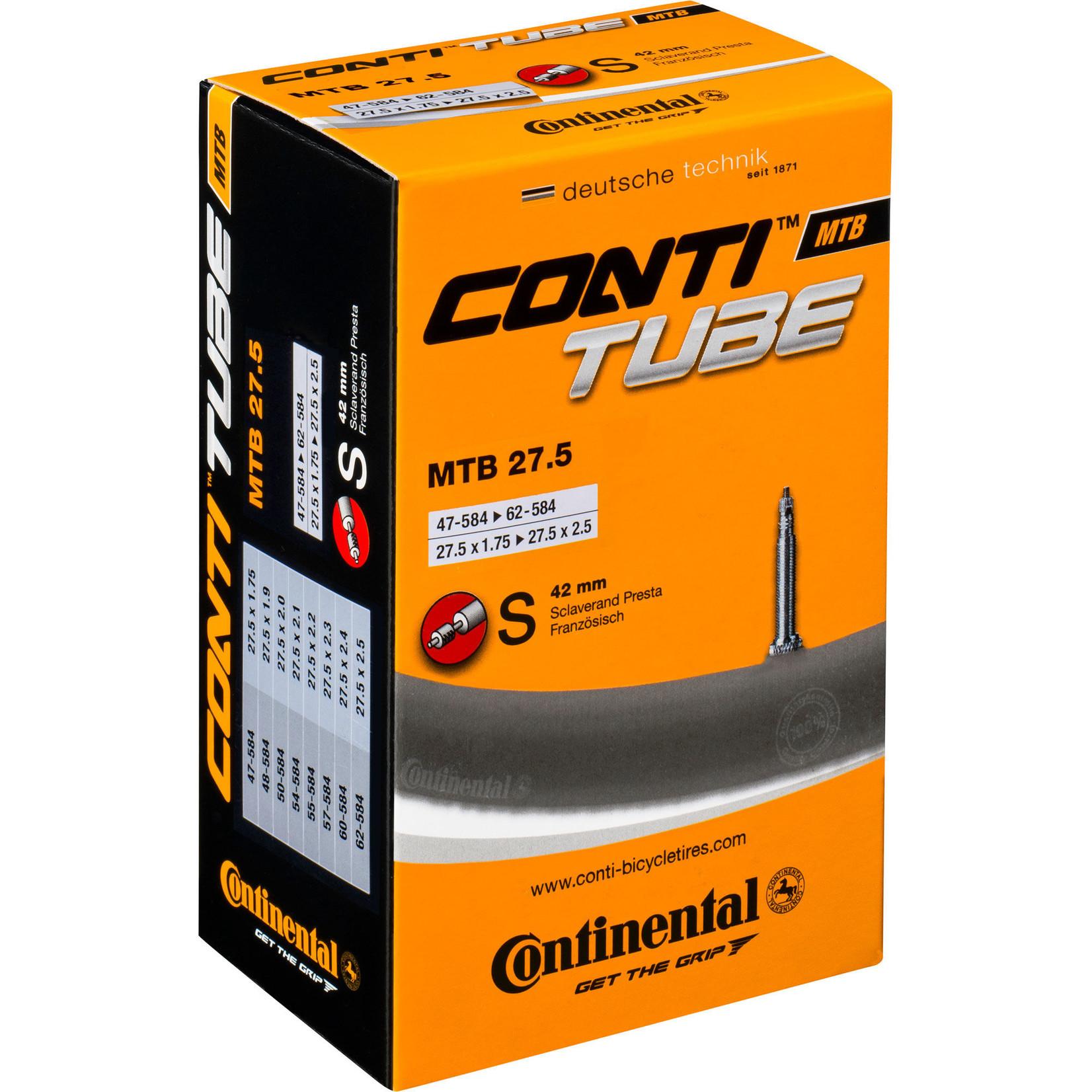 Continental Inner Tube MTB 27.5 Presta Valve 42mm
