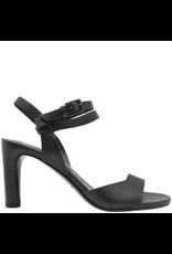 Del Carlo DelCarlo Black Asymmetric Sandal 7050