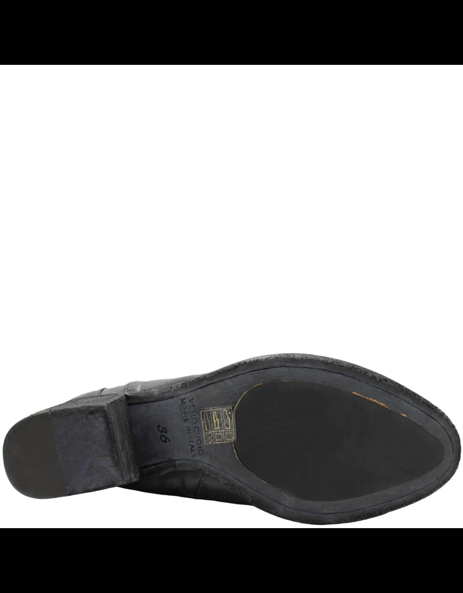 FauzianJeunesse FauzianJeunesse Grey Side Zipper Boot With Back Detail 3618
