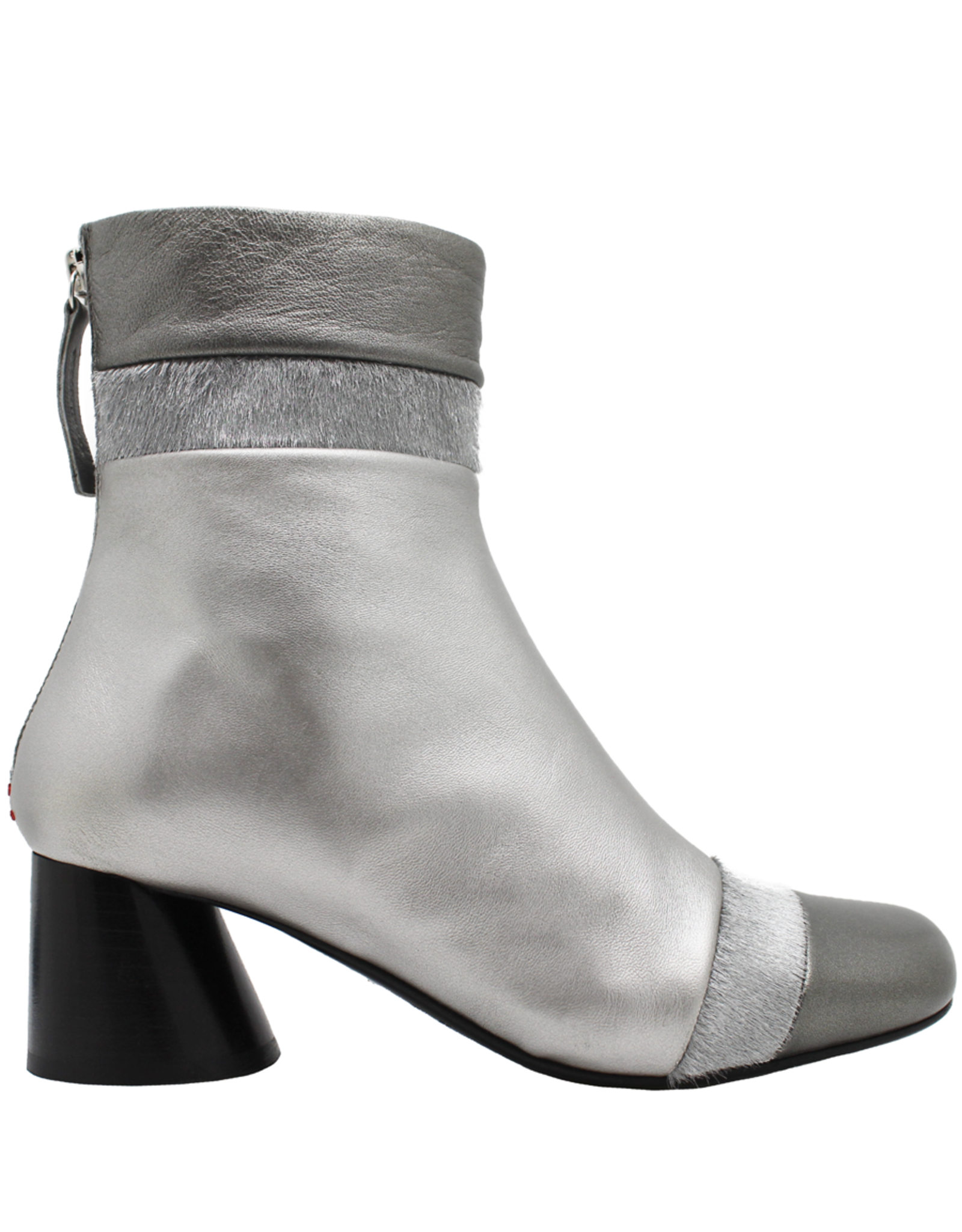 Halmanera Halmanera Metal Patchwork Ankle Boot Asymmetric Toe 1988