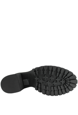 Now Now Blue Nubuck Medium Heel Lace-Up Hiker Boot 5931
