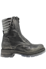Now Now Metal Flat Front Zipper With Clear Tread Sole 5827