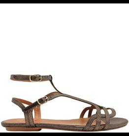 ChieMihara ChieMihara Metallic Double Buckle Art Deco Sandal Yael