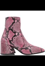 Elena Iachi ElenaIachi Pink Snake Mid-Calf Square Toe Boot 1945