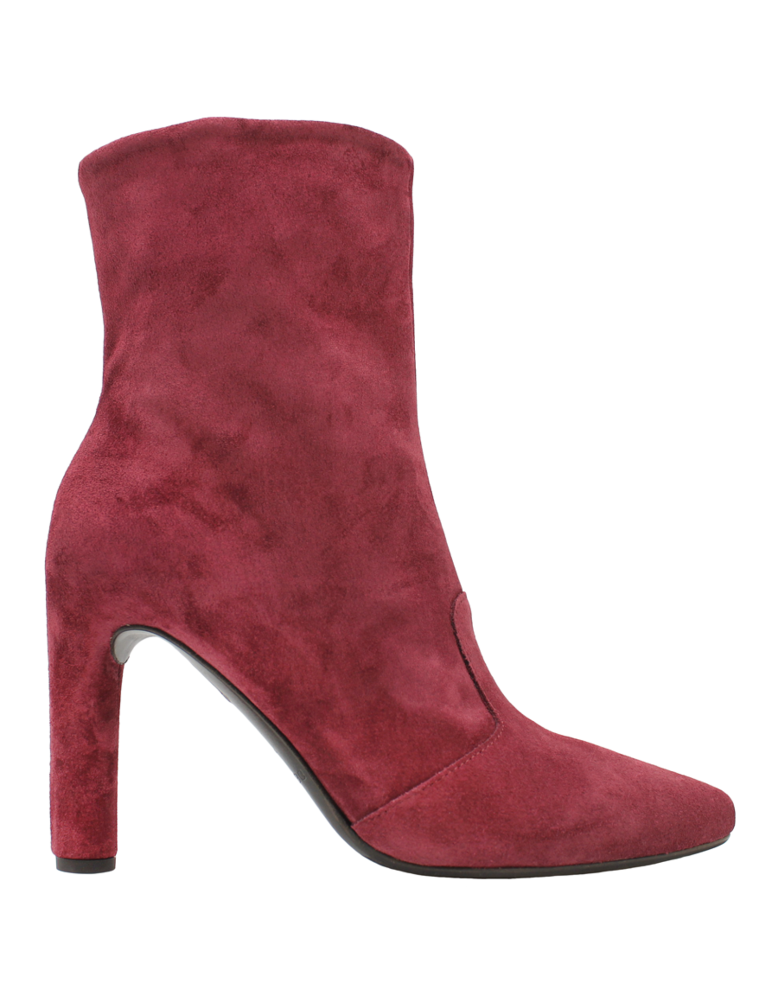 Del Carlo DelCarlo Raspberry Suede High Heel Ankle Boot 6440