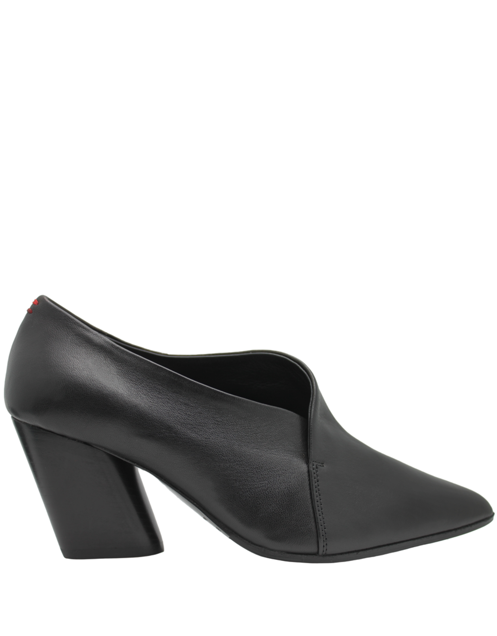 Halmanera Halmanera Black Medium Heel Pump Mona