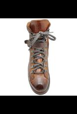LeMargo LeMargo Cognac Hiker Boot With Side Zipper 2290