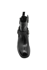LeMargo LeMargo Black Moto Boot With Harness 2284