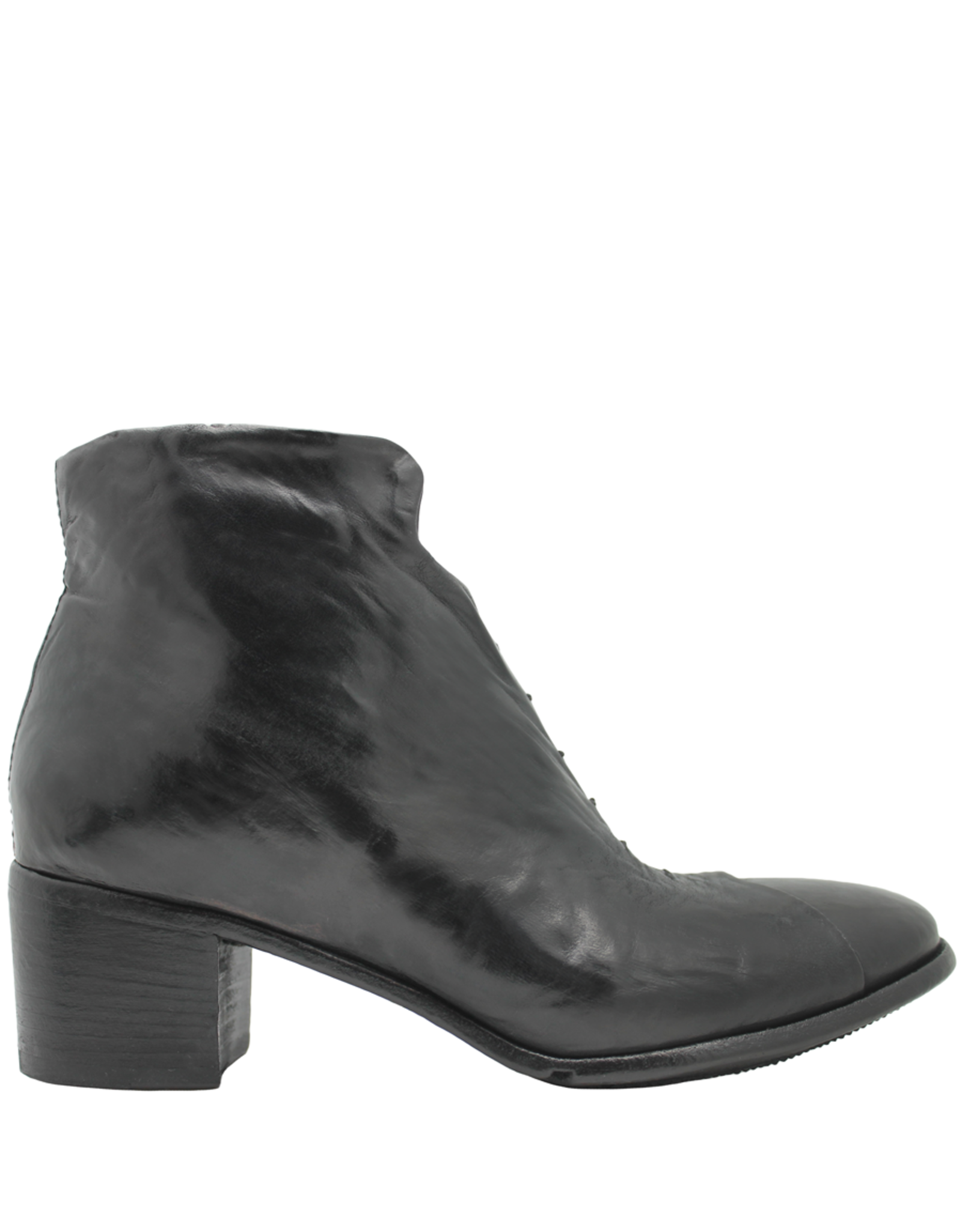 LeMargo LeMargo Black Ankle Boot Hidden Lace Detail 2288