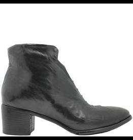 LeMargo LeMargo Black Ankle Boot Hidden Lace Detail 2288