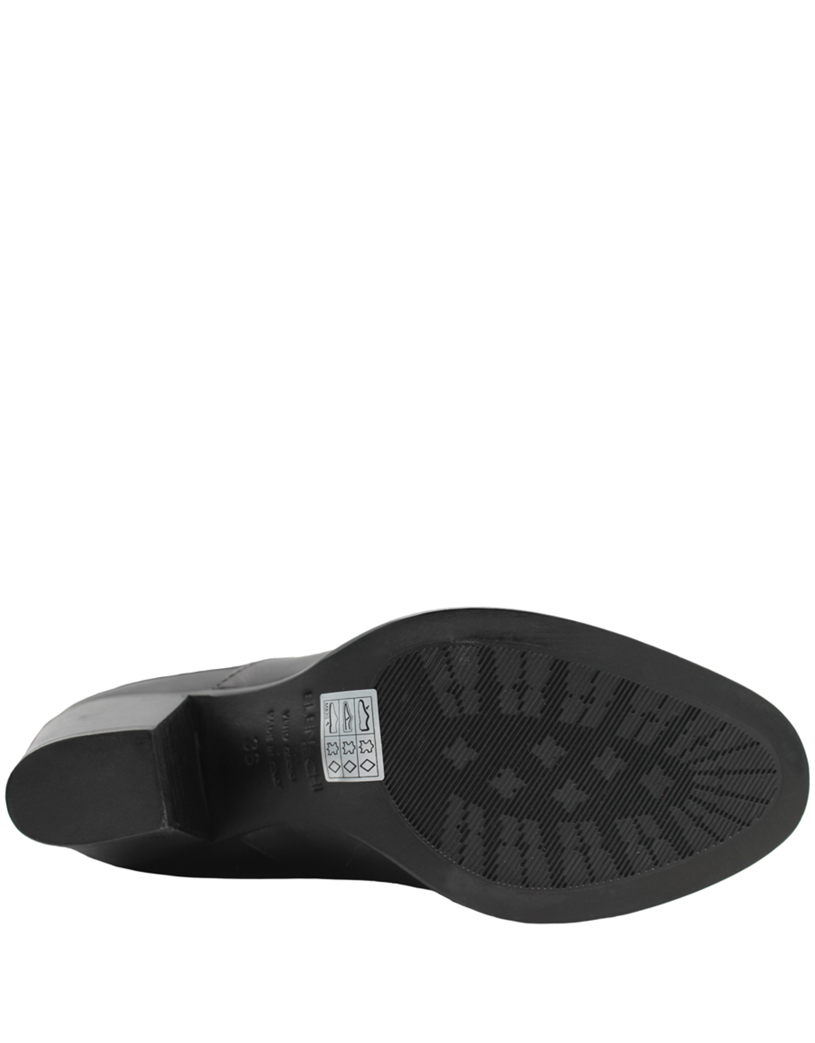 Elena Iachi ElenaIachi Black Stretch Top Knee Boot 1646