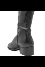 Elena Iachi ElenaIachi Black Flat Knee Boot With Back Zipper 1740