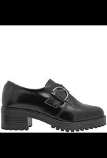 PalmrothOriginal PalmrothOriginal Black Patent Monk Strap Shoe 8505