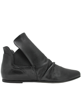 Ink Black Ruched Chelsea Boot 4734