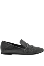 Ink Graphite Ruched Loafer 4736