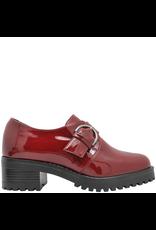 PalmrothOriginal PalmrothOriginal Red Patent Monk Strap Shoe 8505