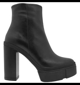 VicMatie VicMatie Black Platform Ankle Boot With Side Zipper 7878