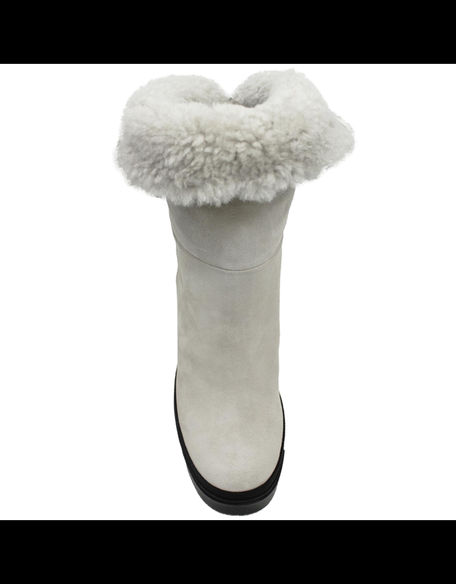 VicMatie VicMatie Snow Shearling Platform Boot 7876