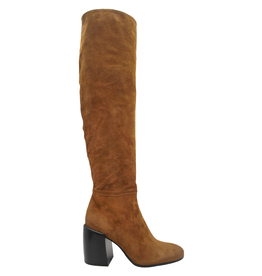 Now Now Brown High Heel Boot 6018