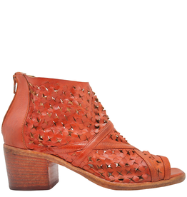 Strategia Strategia  Orange Caged Sandal 4541