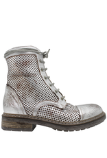 Now Now GunMetal Lace-Up Ankle Boot Kyle