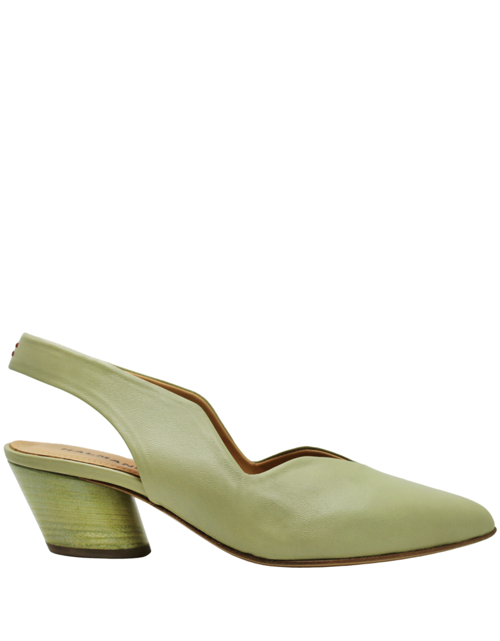 Halmanera Halmanera Mint Sling-Back With Matching Heel 2004