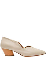Halmanera Halmanera Beige Little Dipper Low Heel Pump 2003