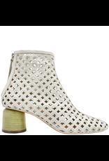 Halmanera Halmanera Dove Laser Cut Sandal Boot With Back Zipper 2002