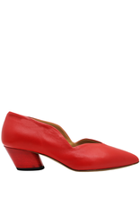 Halmanera Halmanera Red Little Dipper Low Heel Pump 2003