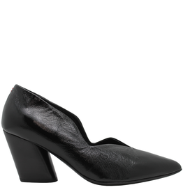 Halmanera Halmanera Black Patent Medium Heel Pump 2008