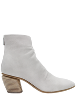Officine Creative OfficineCreative Gesso Point Toe Ankle Boot With Back Zipper Livia