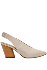 Halmanera Halmanera Beige Sling Back With Melon Heel Point Toe 2009