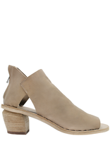 Officine Creative OfficineCreative Taupe Sandal With Back Zipper Meena