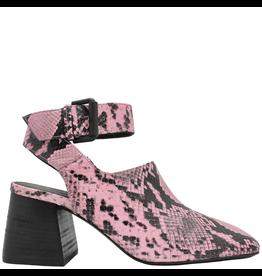 VicMatie VicMatie Pink Snake Print Sandal 8422