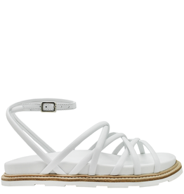 VicMatie VicMatie White Sandal With Footbed Tread Bottom 8390
