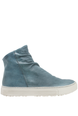 Fiorentini+Baker Fiorentini+Baker Jeans Calf Side Zipper High Top Sneaker Biel