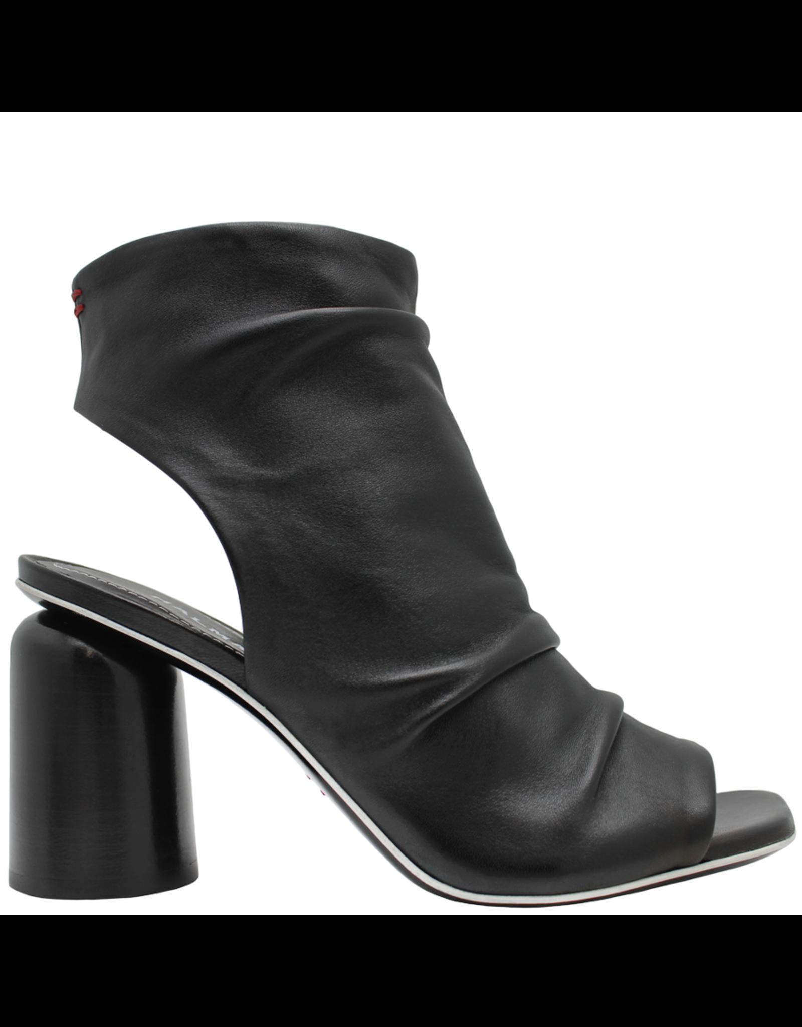 Halmanera Halmanera Black Nappa High Heel Gladiator Sandal 2020