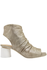 Halmanera Halmanera Platinum Side Zipper Gladiator Sandal 2019