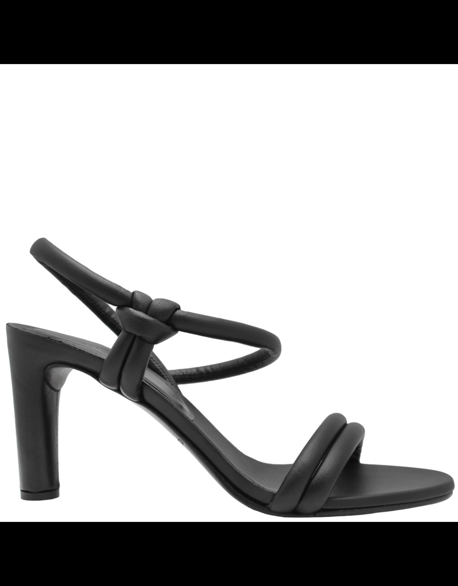 Del Carlo DelCarlo Black Strap Sandal 1073