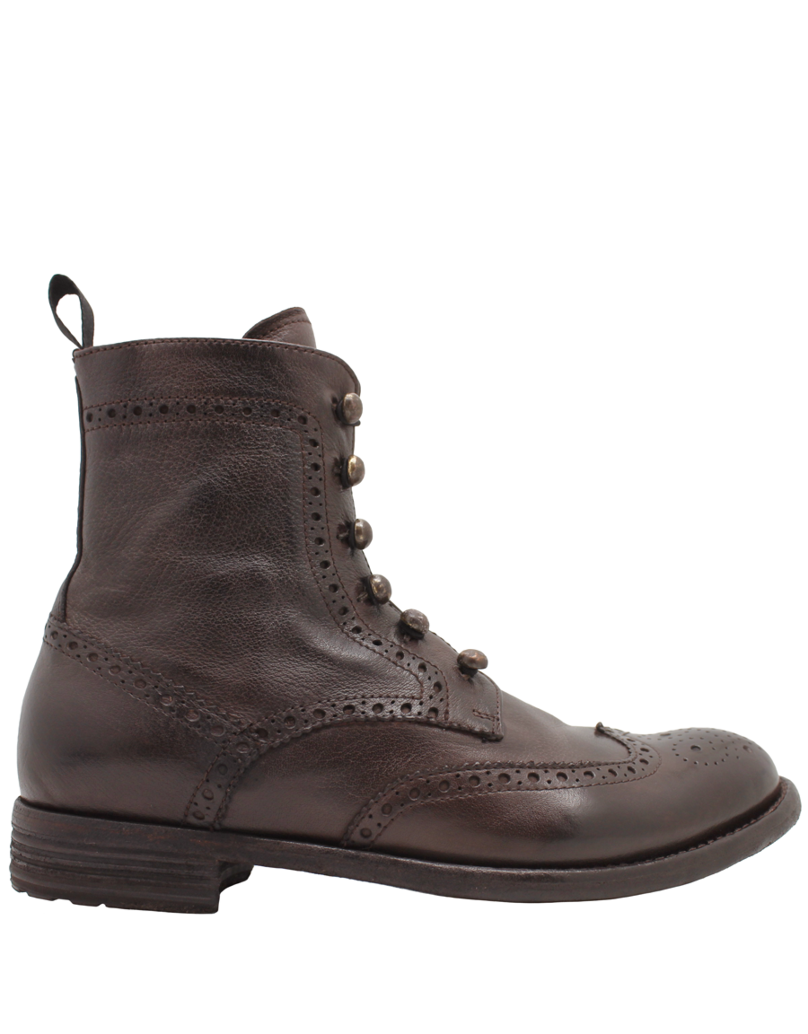 Officine Creative OfficineCreative Otto Ankle Boot / Toggle And Side Zipper Lexicon