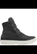 Fiorentini+Baker Fiorentini+Baker Black Sneaker With Rabbit Side Zipper Bret-Fur