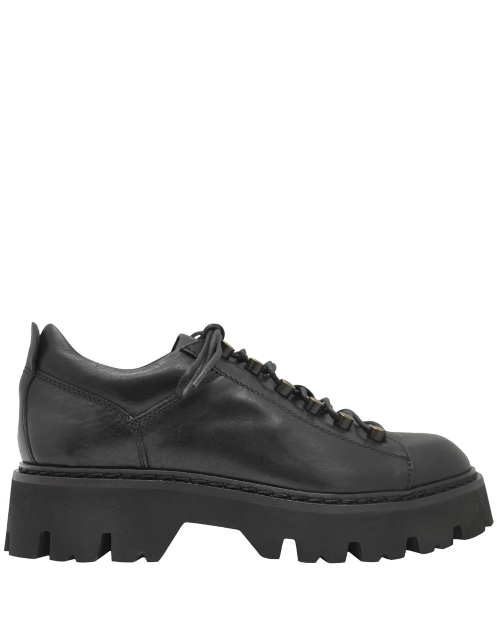 Now Now Black Hiking Shoe Bootie 6544