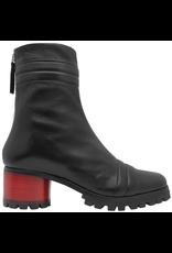 Halmanera Halmanera Black  Mid-Calf With Red Geometric Heel 2025