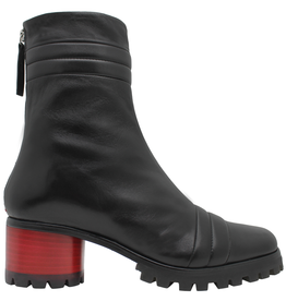 Halmanera Halmanera Black  Mid-Calf With Red Geometric Heel 2025